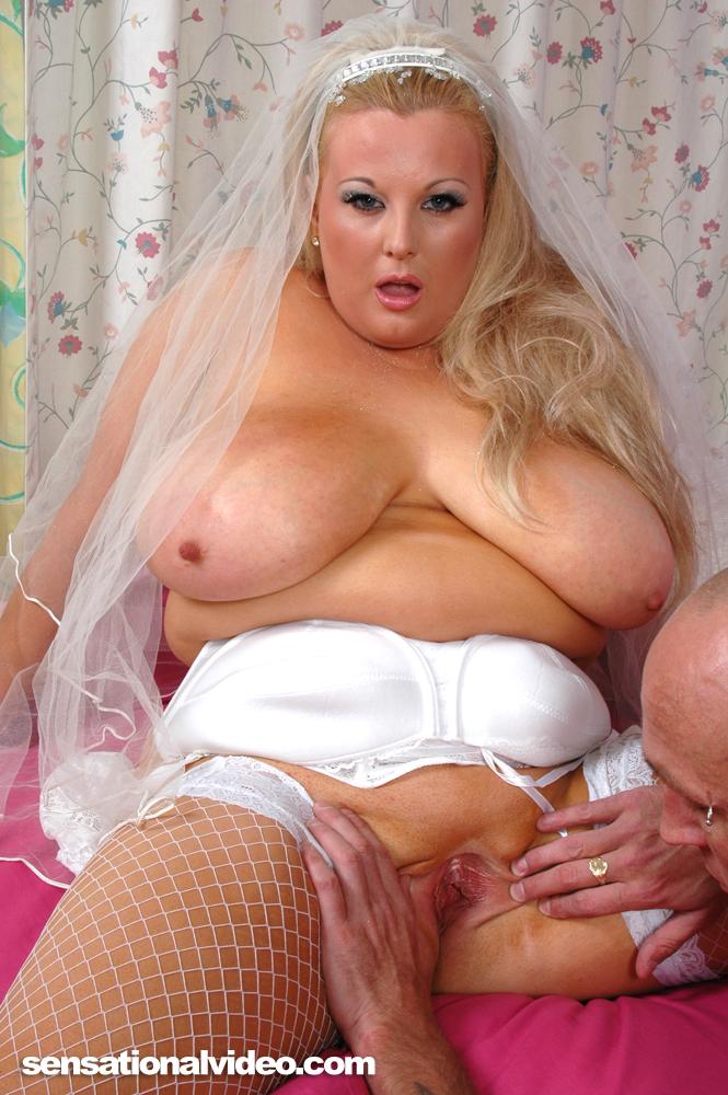 Фото пухлых невест порно